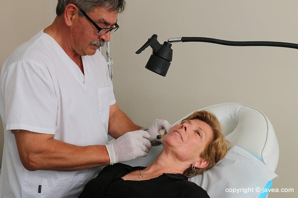 Wrinkle treatment in Jávea - Policlinica Cume
