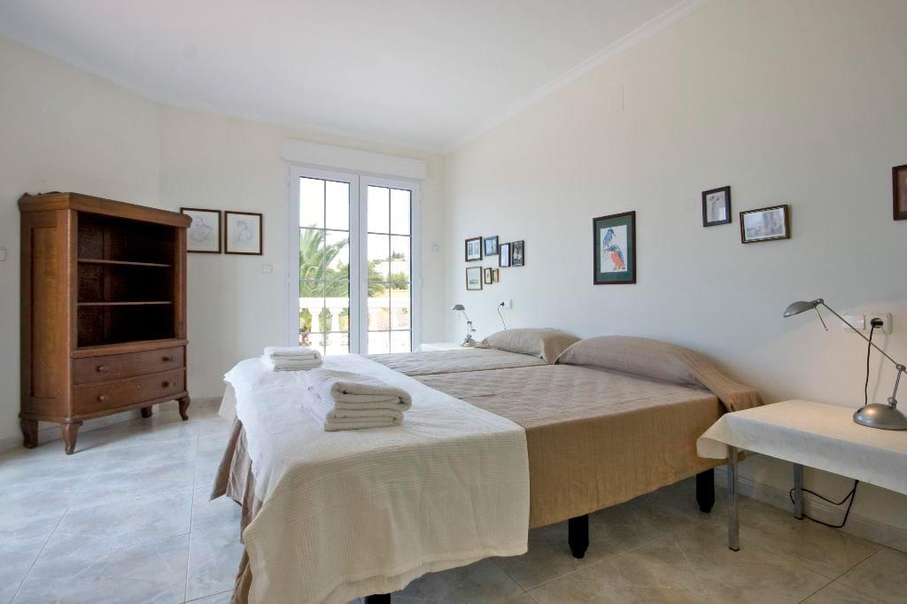 Una de les habitacions Quality Rent a Vila