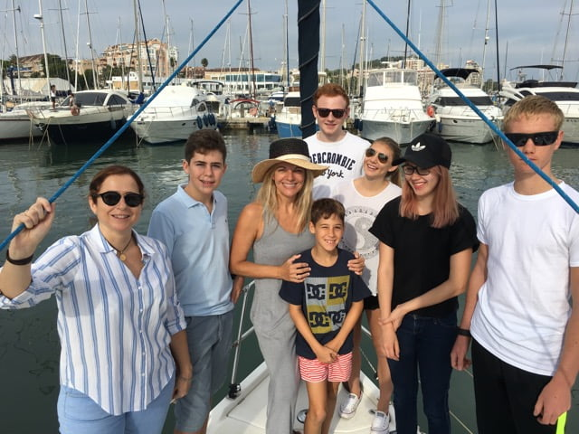 Visita en velero a la Reserva Marina