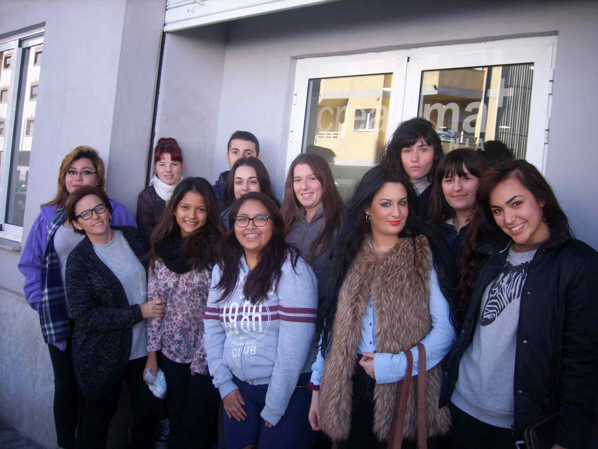 Students hairdressing course Creama