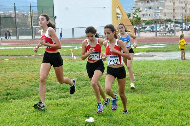 Atletas durante una de las carreras