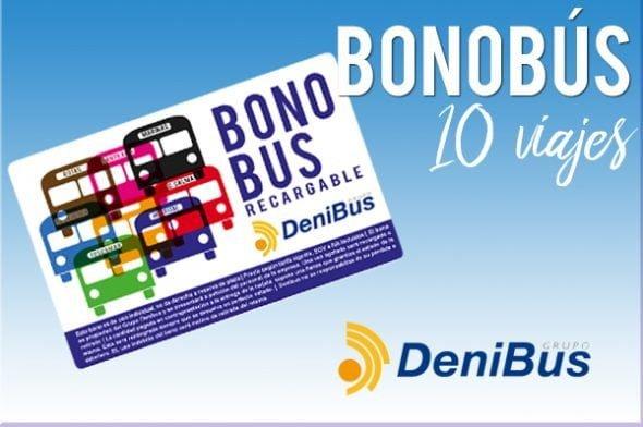 Bonobús 10 viajes Denibus