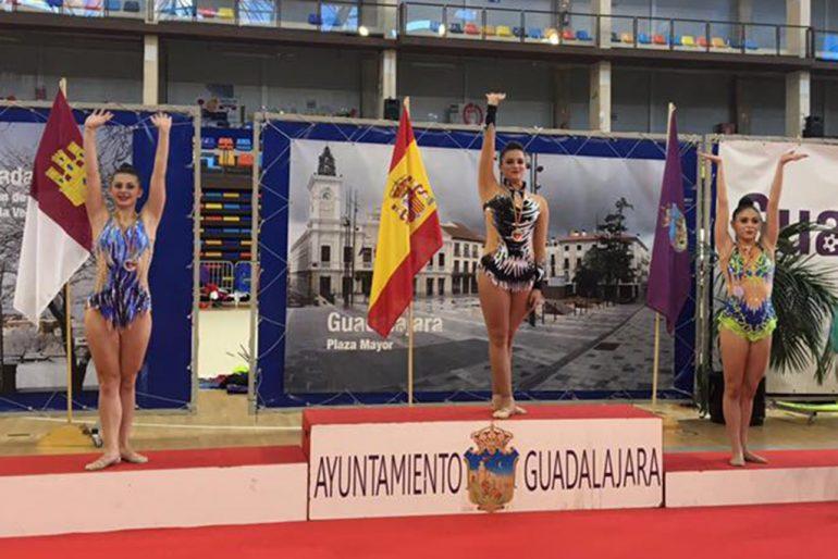Carla Montealegre. Subcampiona del trofeu categoria Copa d'Espanya Base