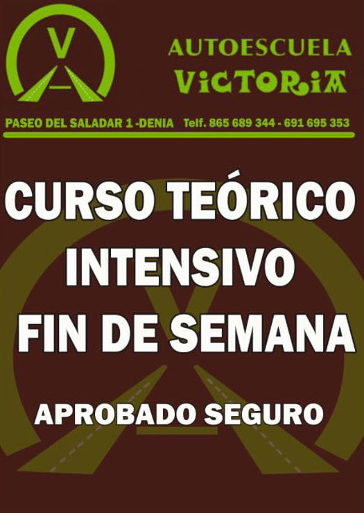 Curso teorico intensivo V de Victoria