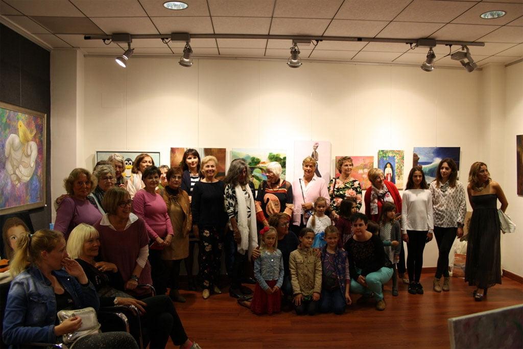 Exposición de los alumnos de Lola Linares