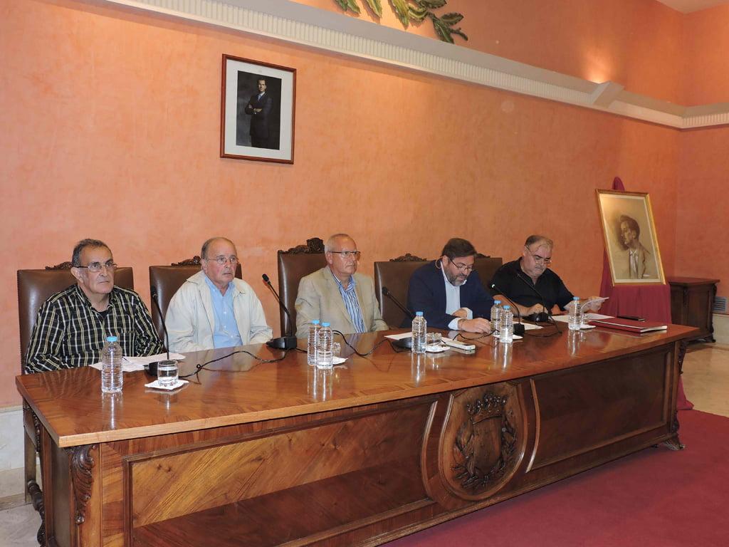 Homenaje a Emilio Oliver en el Ayuntamiento de Dénia