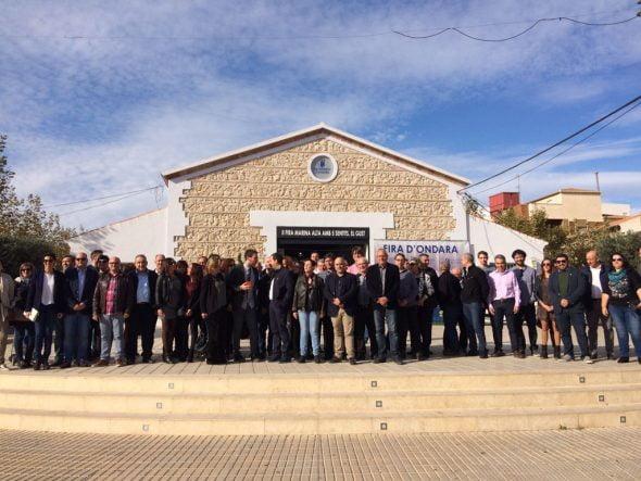 Inauguración de la Fira Marina Alta En Els Cinc Sentits en Ondara