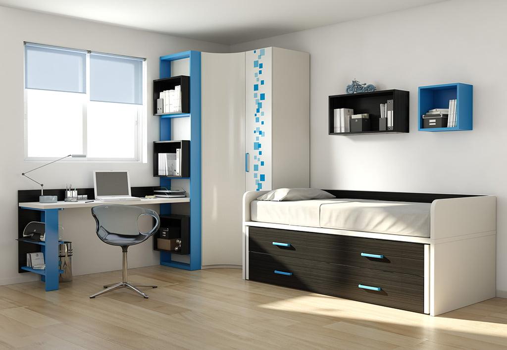 Muebles en azul infanti muebles martinez d for Marca muebles diseno