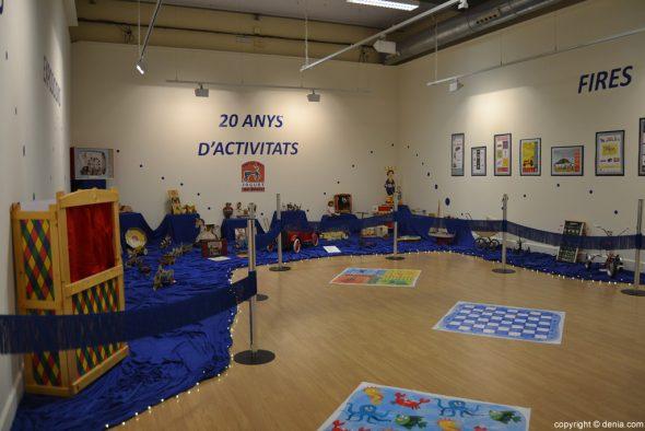 Exposición 20 Años Amics del Joguet Dénia - Muestra