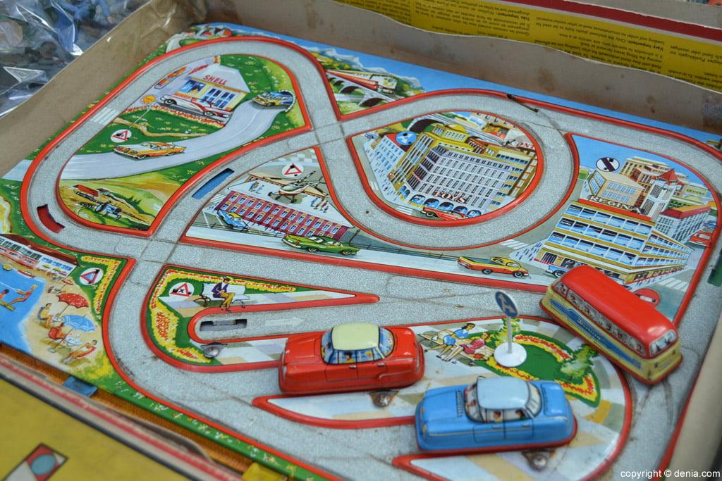 XIX Fira de la Joguina Antic de Dénia - pista de cotxes