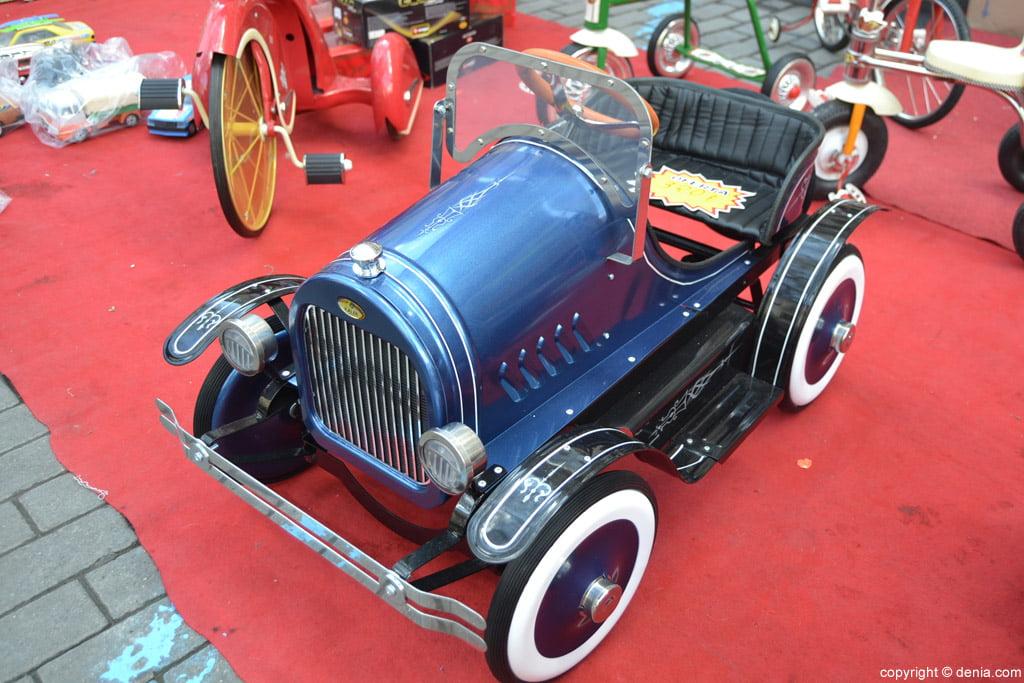 XIX Fira de la Joguina Antic de Dénia - cotxe a pedals