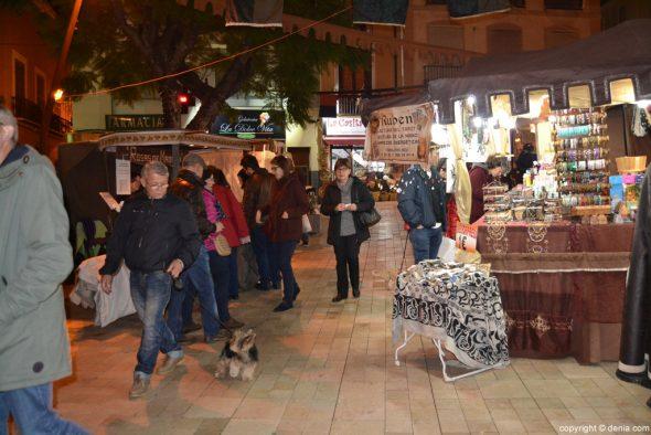 Mercado Medieval Dénia 2016 - plaza de la constitución