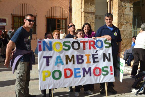 Día Internacional de la Discapacidad - Pancarta