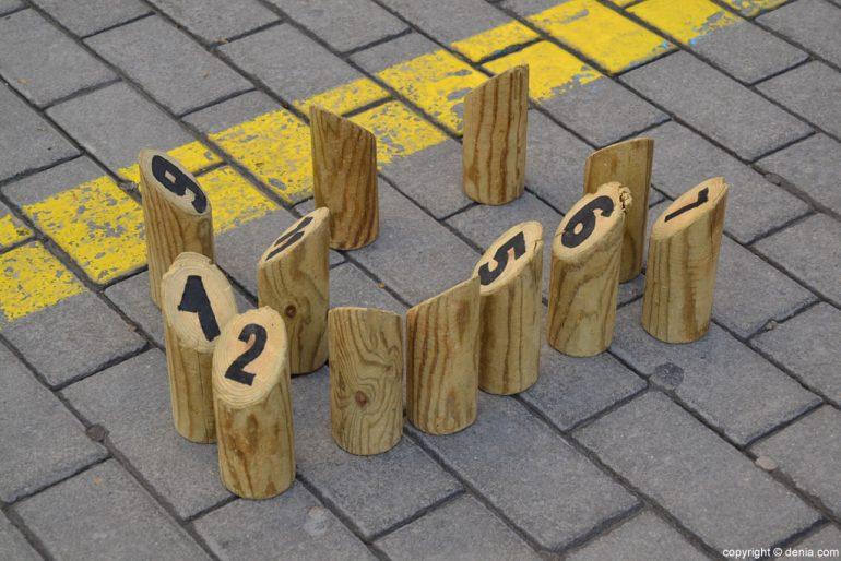 XIX Feria del Juguete Antiguo de Dénia - juegos tradicionales