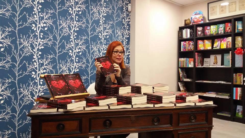 Amagoia Arce présente son dernier livre à Dénia
