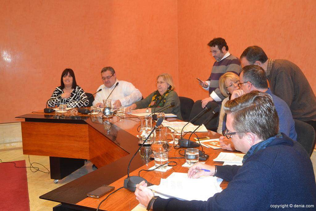 Consiglieri del gruppo socialista in plenaria