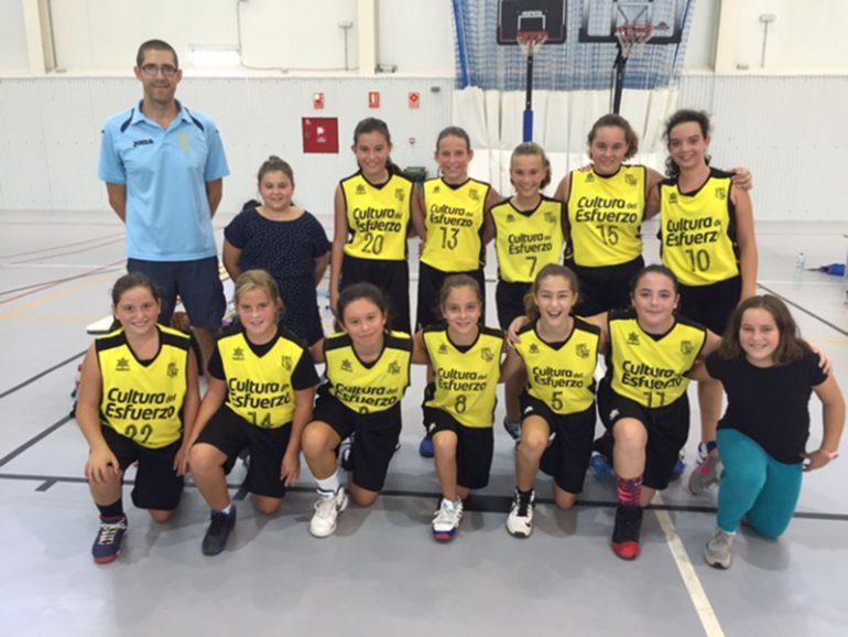 Fem Alevin Team. Dénia Basquet