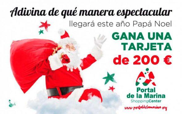Santa Claus arrival Navy Portal