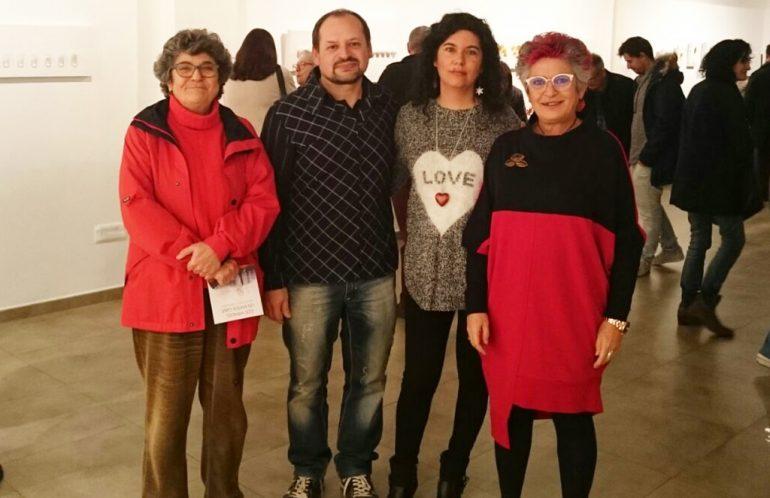 María Caado junto a Joan Roselló