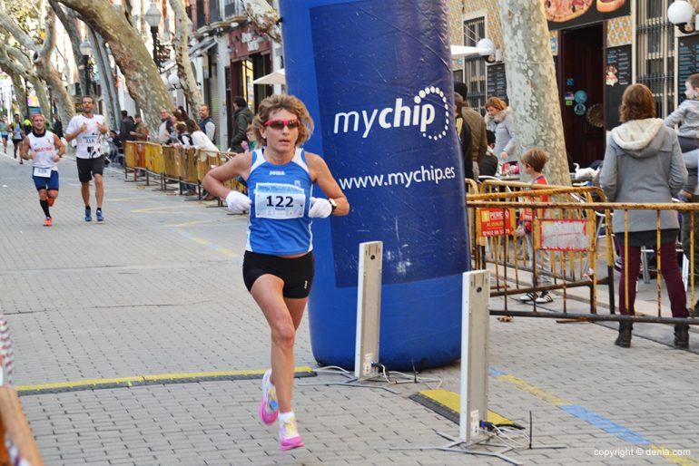 Maxime McKinnon winner of the Half Marathon