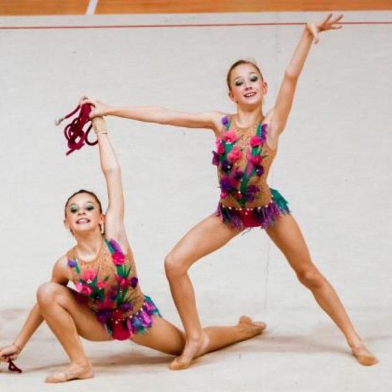 Nuria Baeza y Anastasia Bolshakova