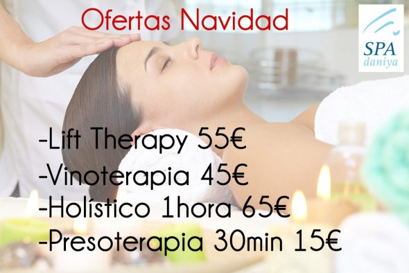 Christmas offers Daniya Denia Spa