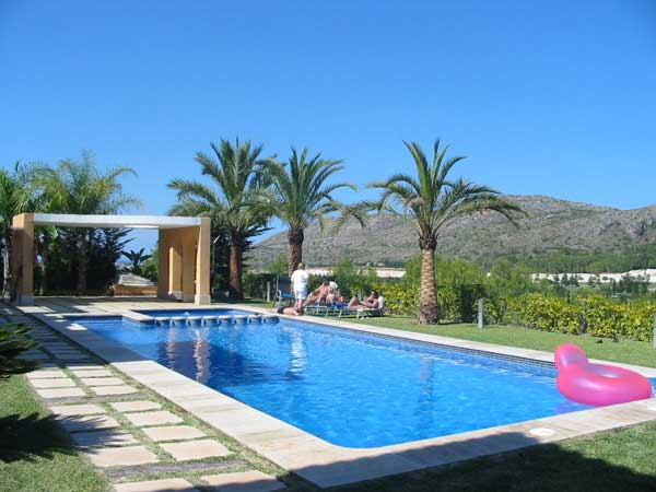 Villa piscine vacances