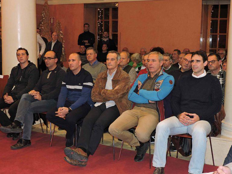 Públic assistent a l'acte de presentació del llibre