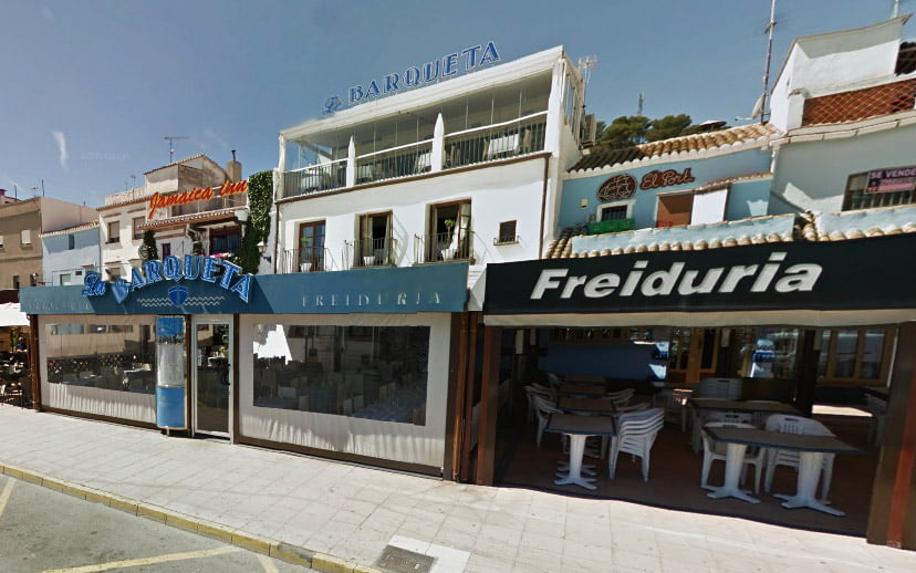 Restaurantes del puerto de Dénia