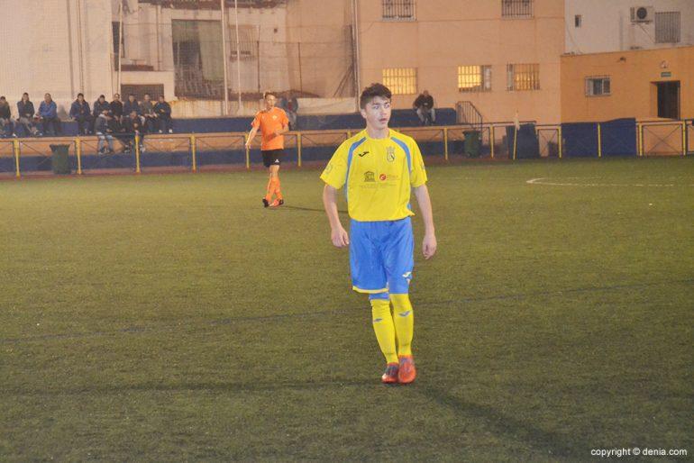 Diego el mejor jugador del Dénia