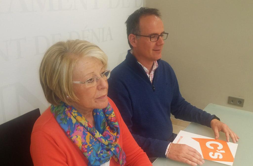 Mari Martínez i Sergio Benito