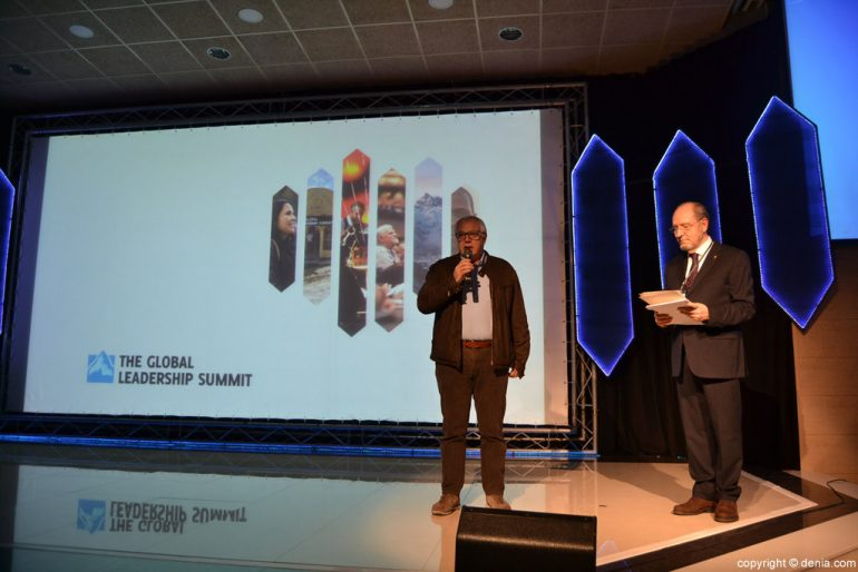 Ricard Pérez a la inauguració de la Global Leadership Summit