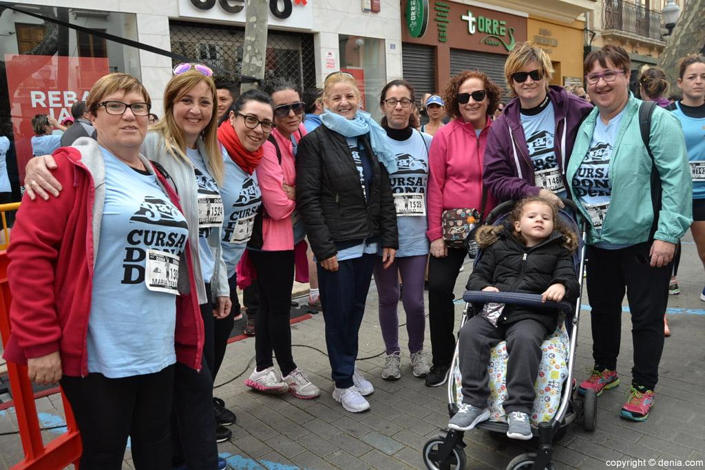 III Cursa de la Dona Dénia – Participantes antes de la carrera