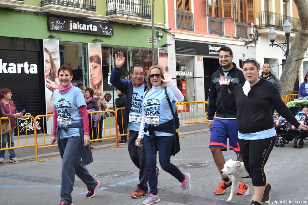 III Cursa de la Dona Dénia – Salida de los participantes