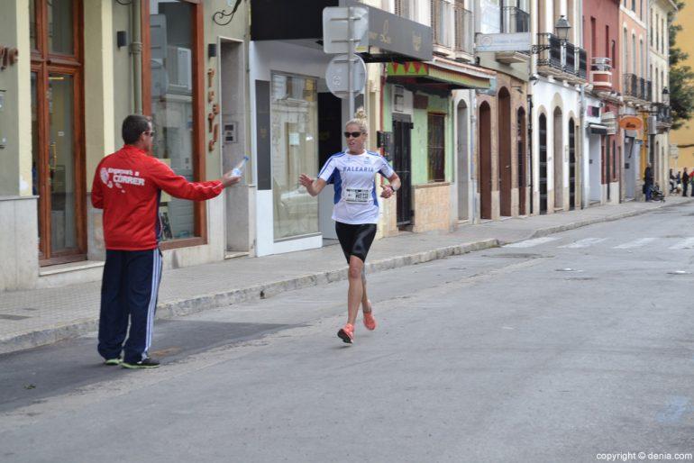 III Cursa de la Dona Dénia - Paso por la calle La Mar