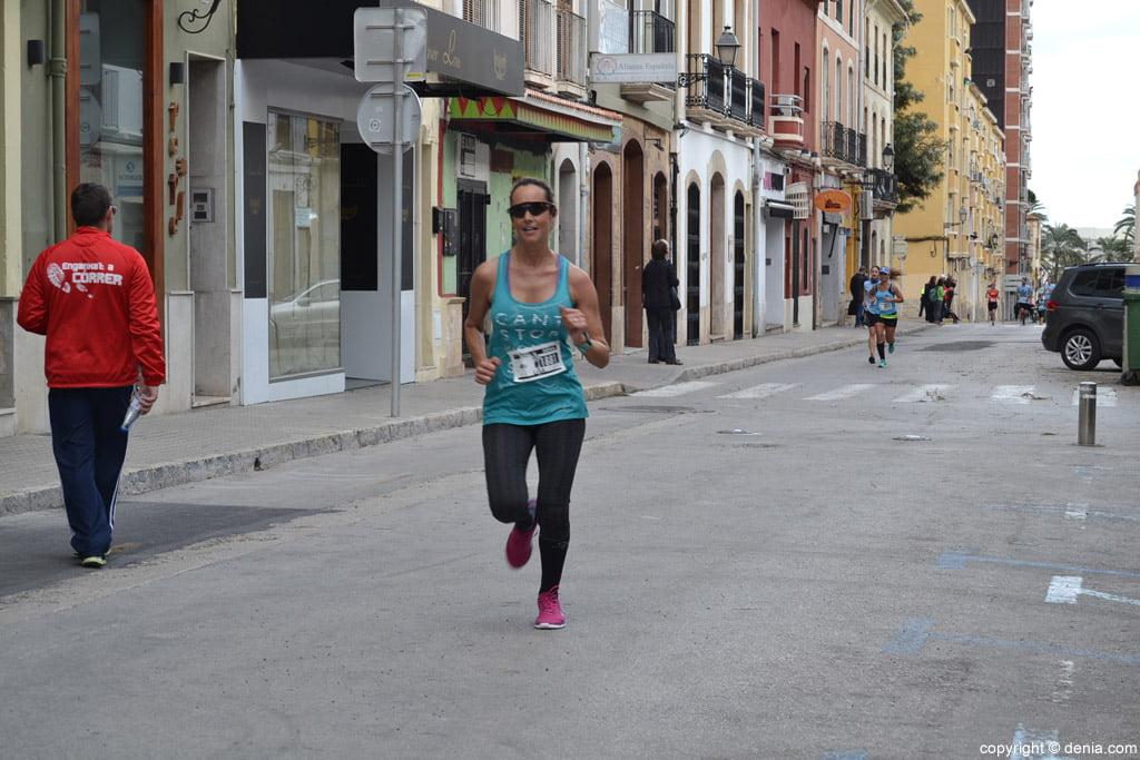 III Cursa de la Dona Dénia – Paso por la calle La Mar