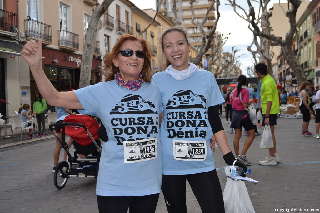 III Cursa de la Dona Dénia – Corredoras