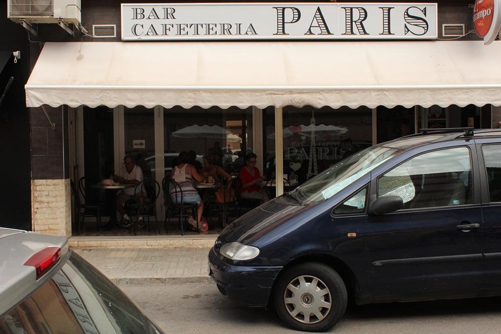 Cafeteria París Youshop Dénia