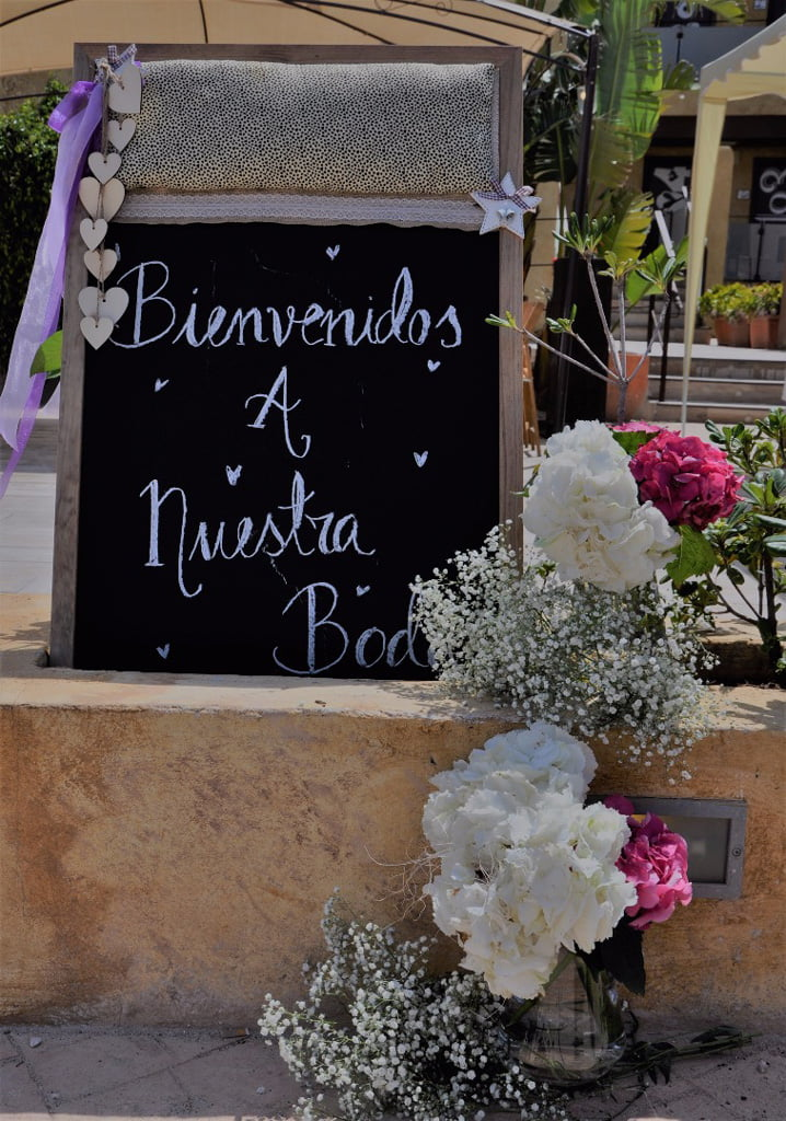 Cartel boda – Bodas y Flores
