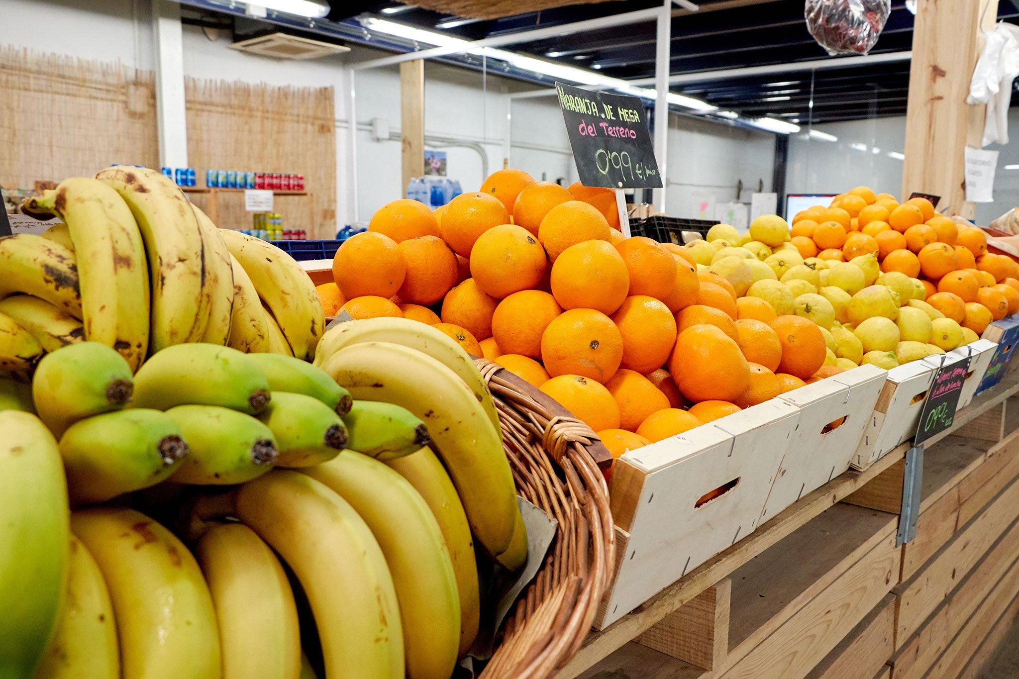 Fruta en Dénia, en La Nau d'Orozco – Frutas y verduras Orozco