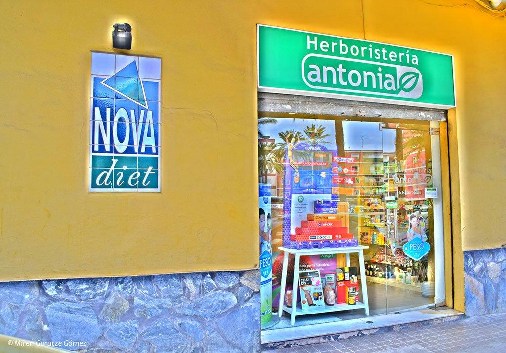 Herboristería Antonia entrada