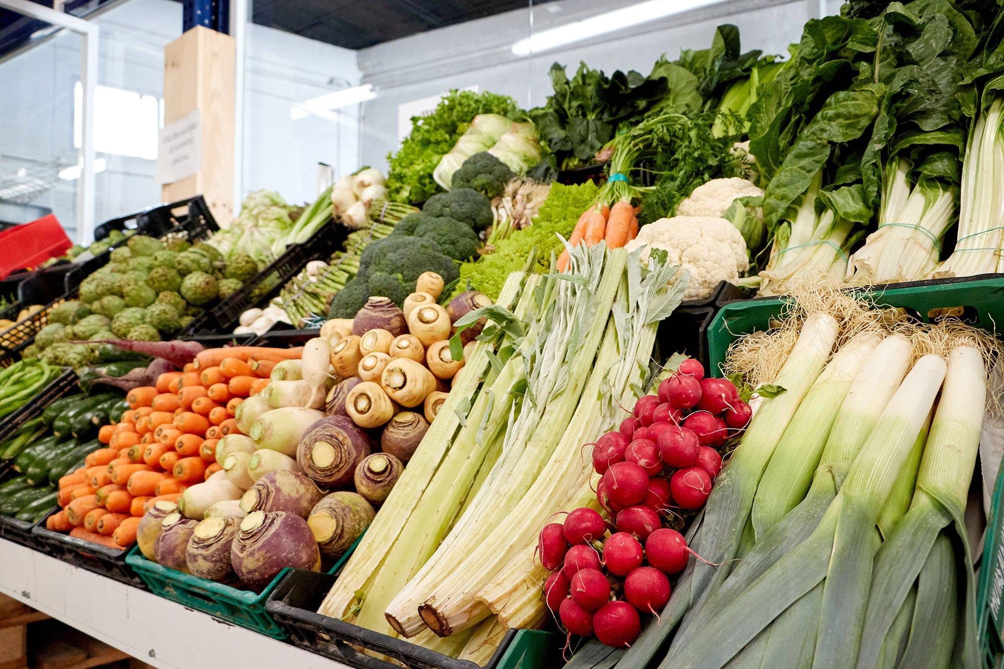 Hortalizas de agricultura de proximidad en Dénia, en La Nau d'Orozco – Frutas y verduras Orozco