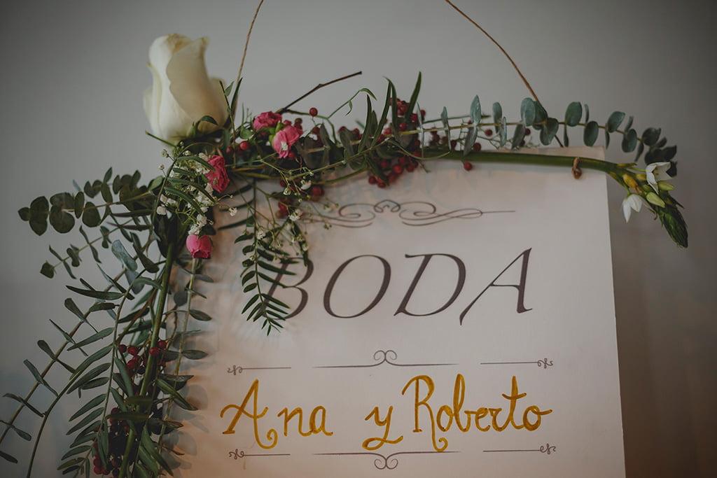 Invitación boda Floristería Azahar