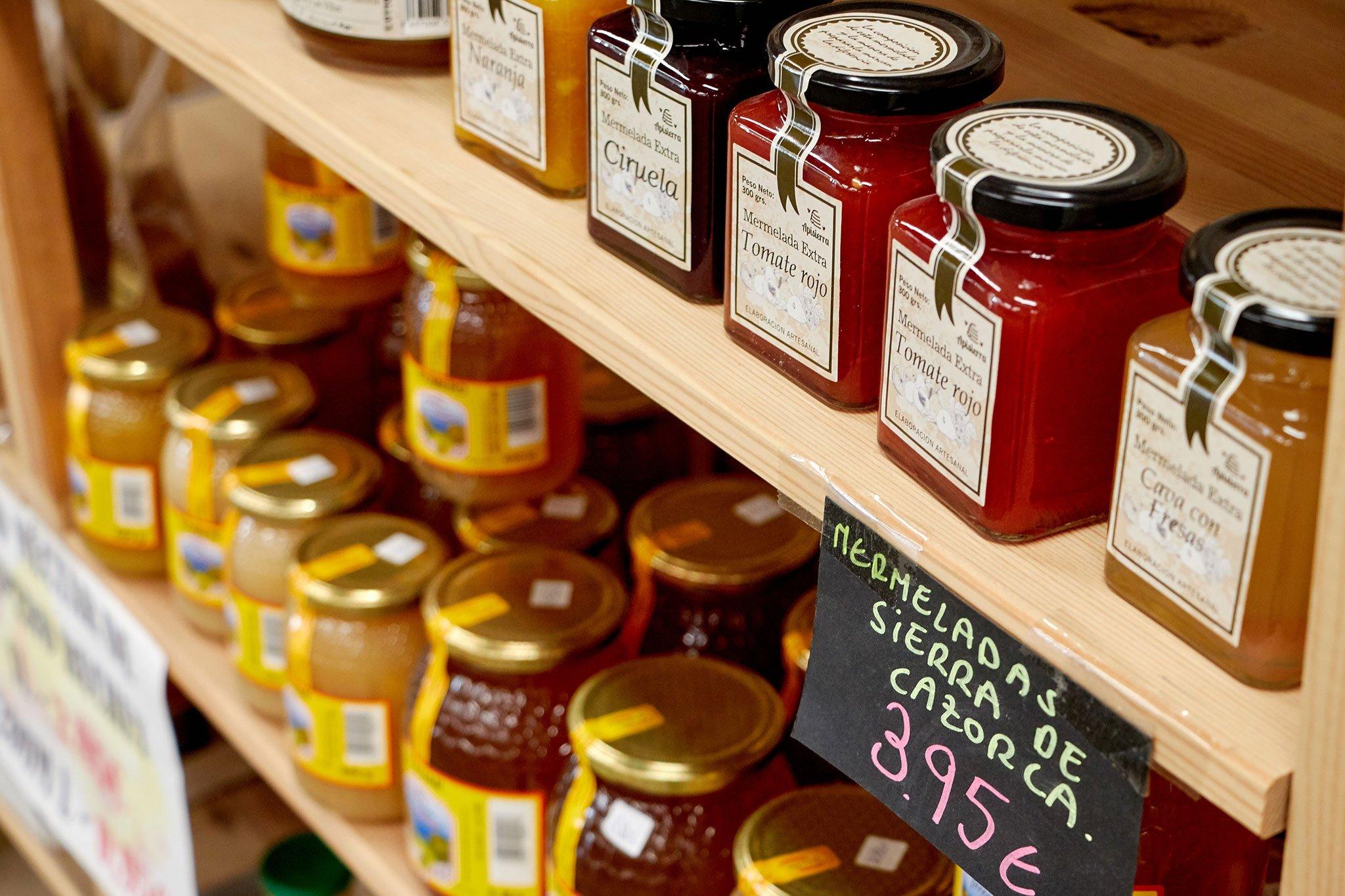 Miel y mermelada artesanal en Dénia, en La Nau d'Orozco – Frutas y verduras Orozco
