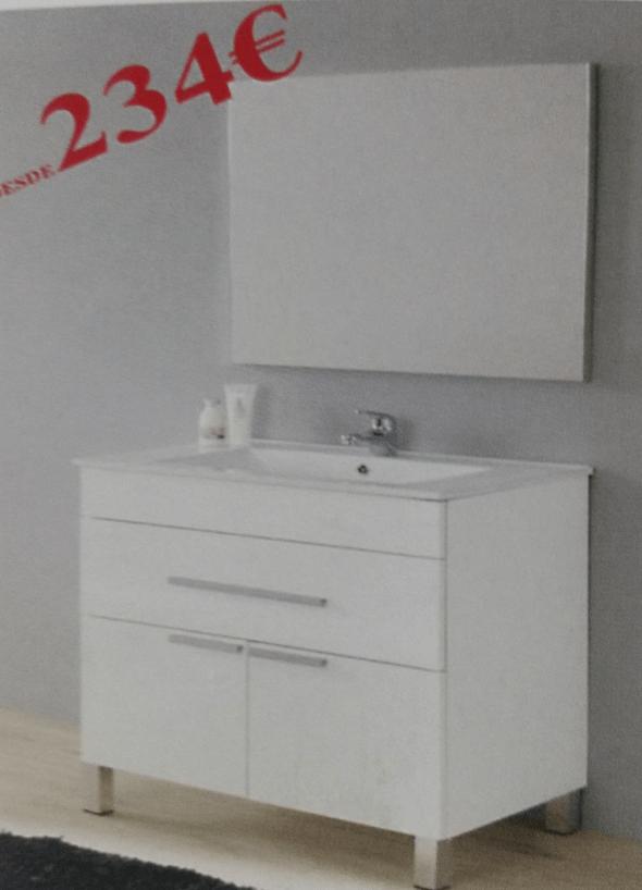 Muebles de baño al mejor precio en Hermanos Camino - Dénia.com