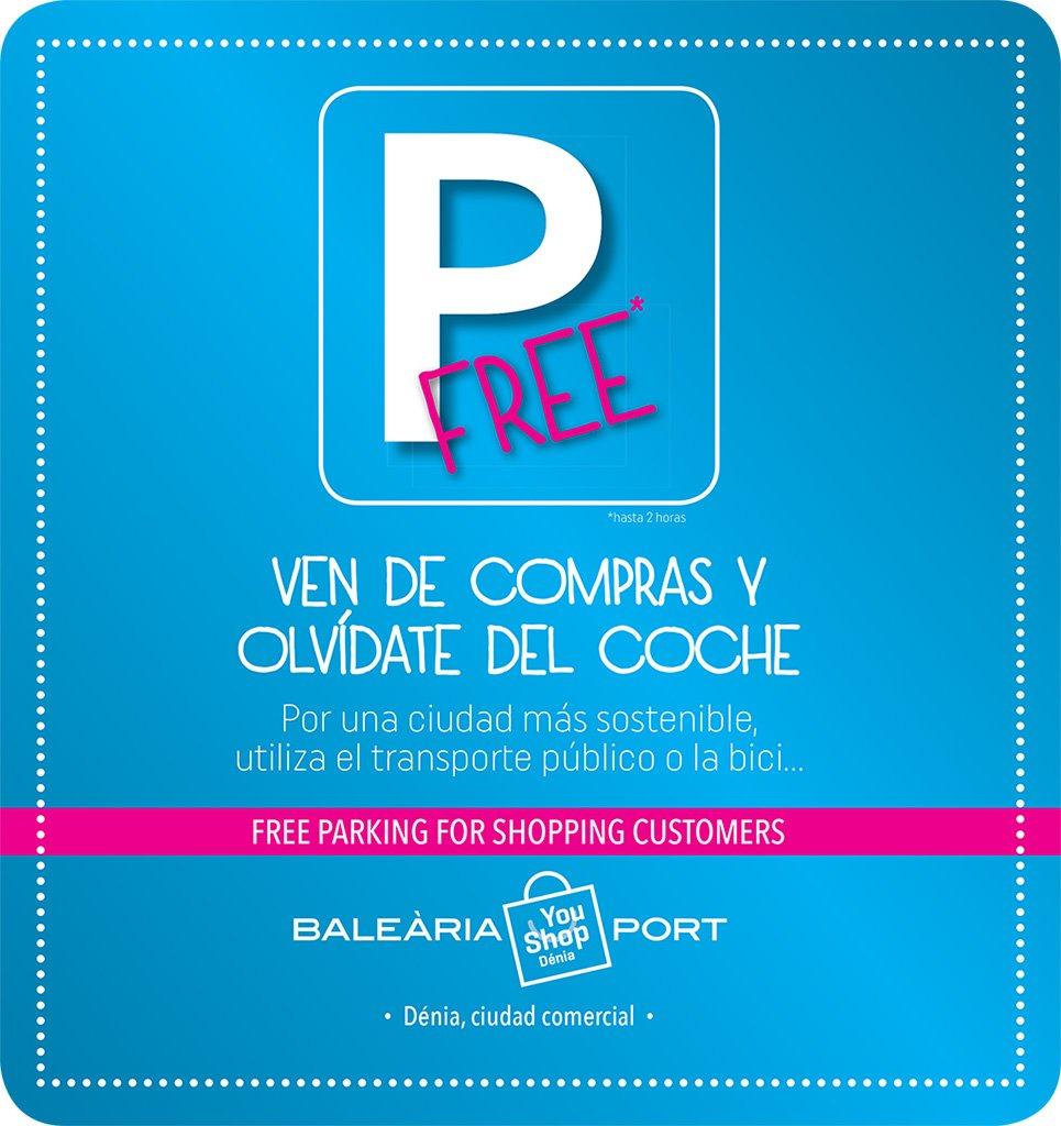 Aparcament gratuït YouShop