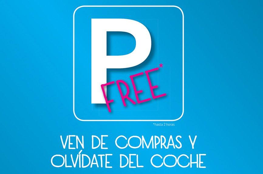 Aparcament gratuït YouShop Dénia