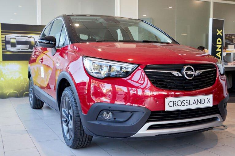 Crossland X rojo - Auto Dénia Motors