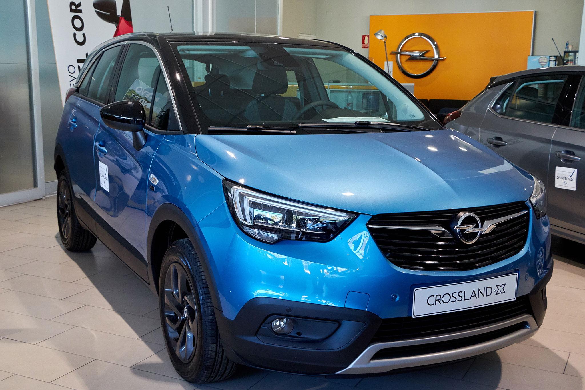 Crossland X azul – Auto Dénia Motors