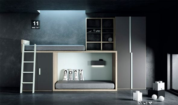 Camere Da Letto Giovani : Tutti i nuovi mobili camera da letto dei giovani per bambini e